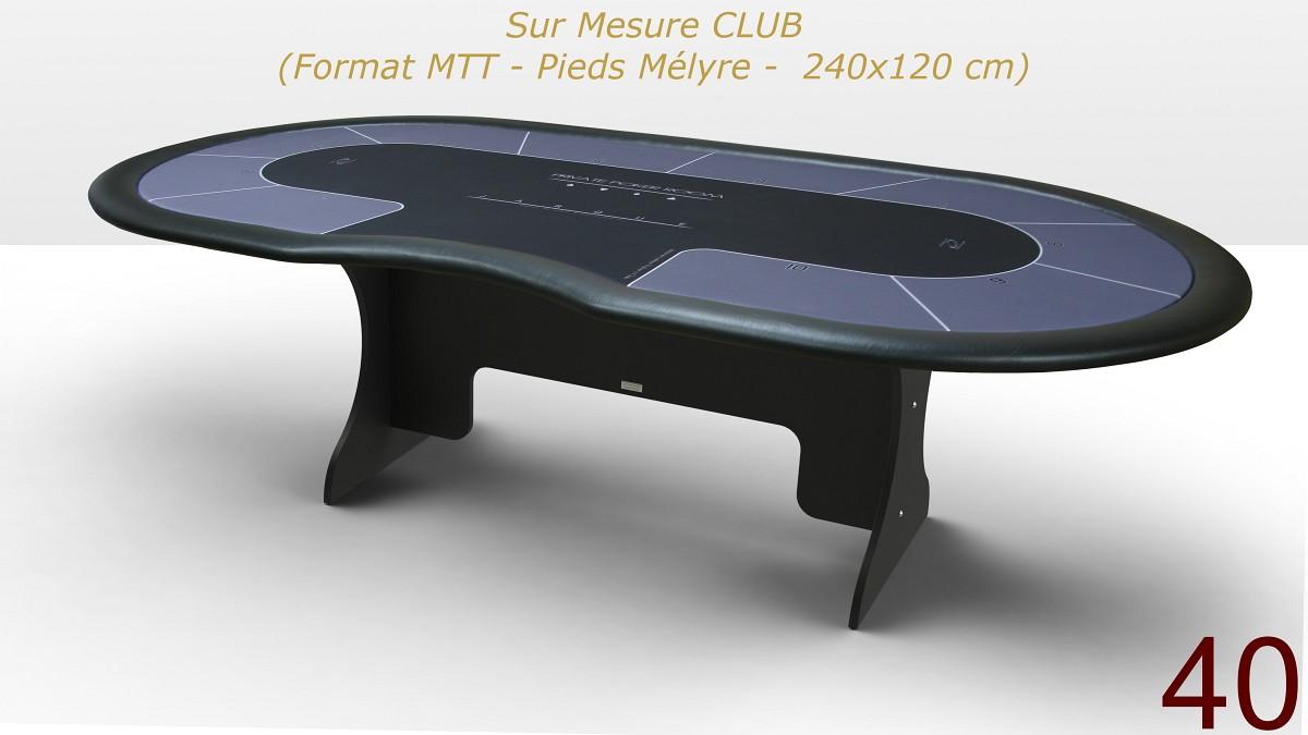 Vendue] Destockage : 1 x table CLUB neuve 530 € - Poker Chips Factory