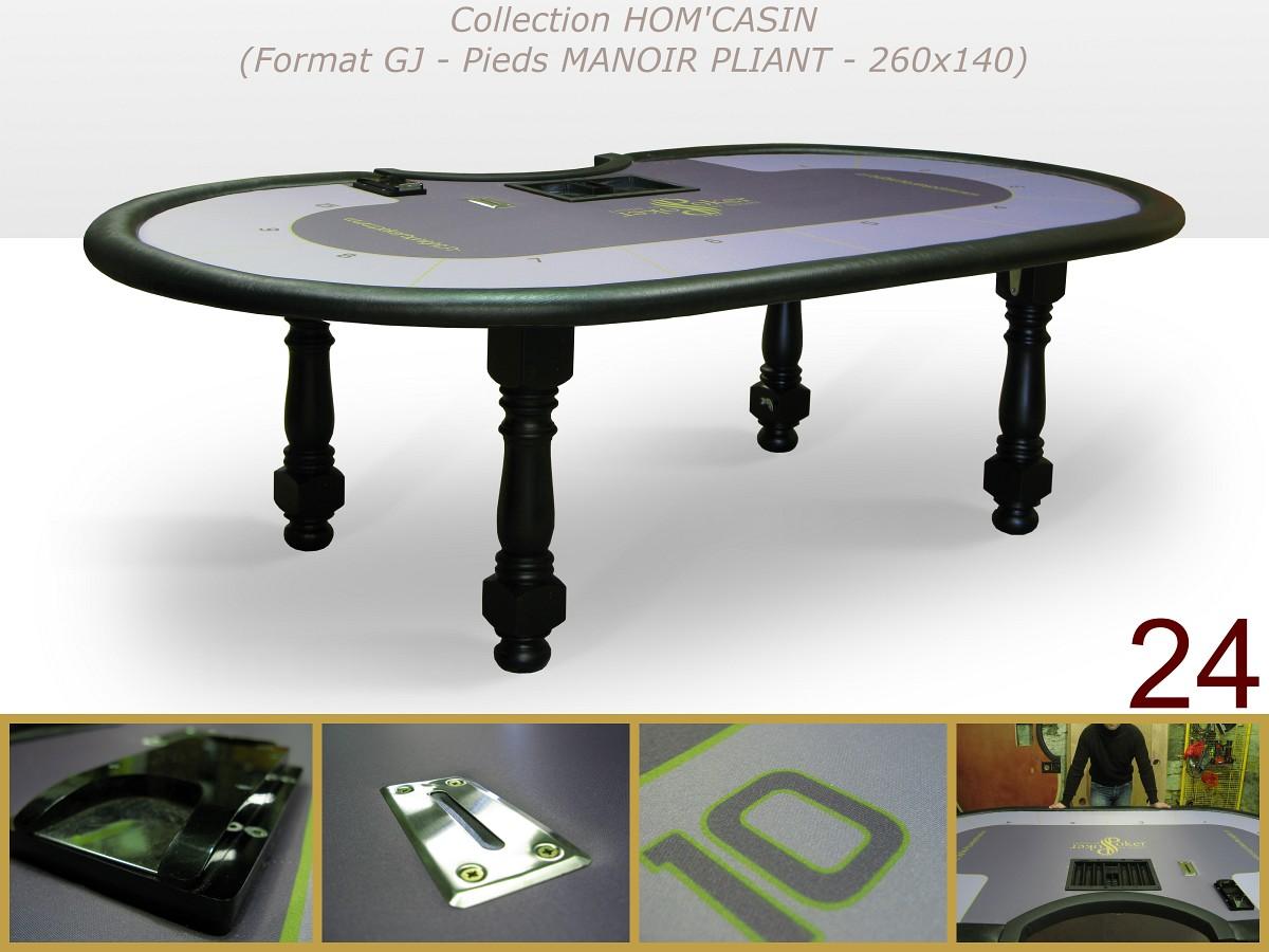 ou poker table. Black Bedroom Furniture Sets. Home Design Ideas